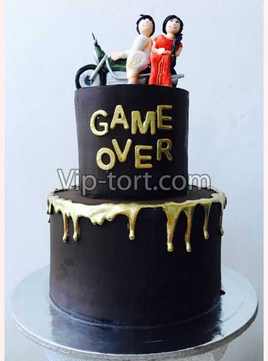 "Торт ""Game over"""