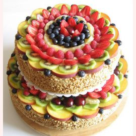 Торты фруктовые эксклюзив