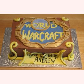 "Торт ""Мир. World of Warcraft"""