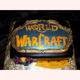 "Торт ""Проекты. World of Warcraft"""