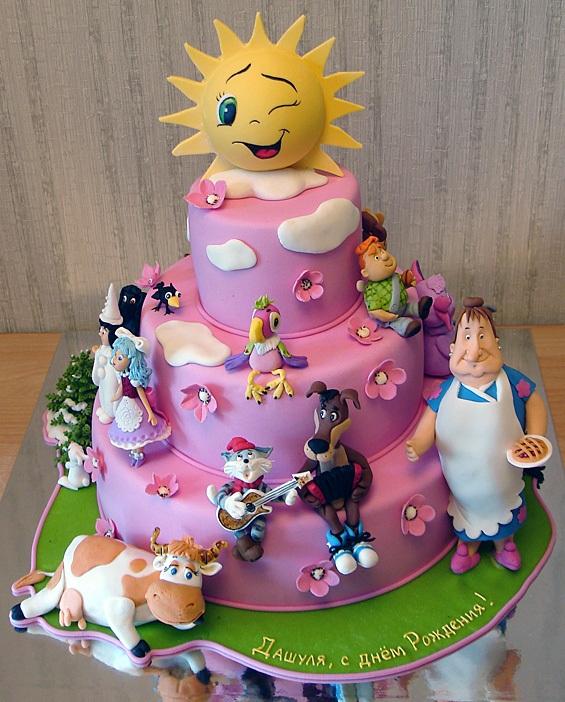 Детский торт любимые герои вы можете