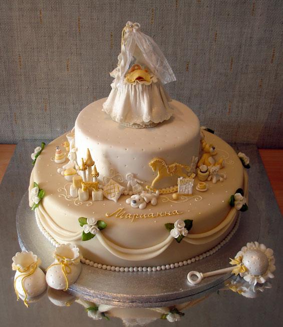 Детский торт колыбель