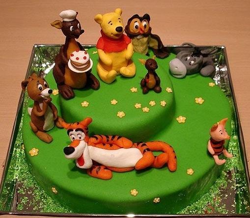 Детский торт винни пух и его друзья