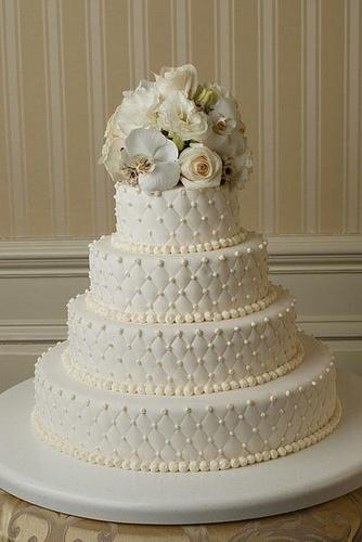 Этот свадебный торт букет цветов вы
