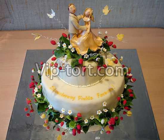 Этот свадебный торт влюбленные на
