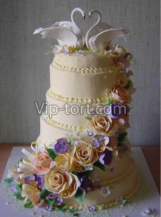 Этот свадебный торт лебединая любовь