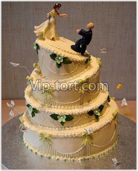 Этот свадебный торт вместе навсегда