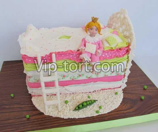 Торт из мастики принцесса на горошине мастер класс
