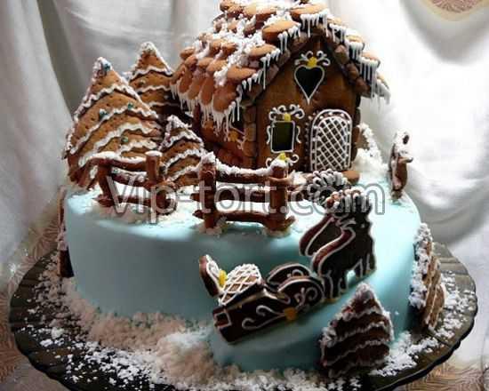 Рецепты тортов пряник фото