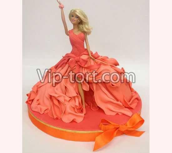 Торт барби академия принцесс