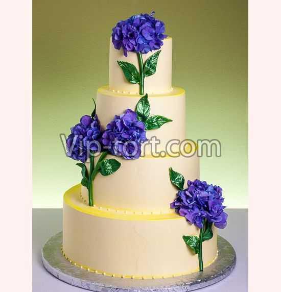Торт синие фиалки наша цена 15900 00 руб в