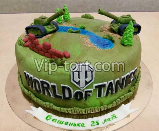 Торт танк мужу на день рождения картинки