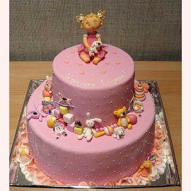 Торт на 1 годик торты на заказ sweet mary