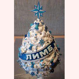 "Торт на Новый год ""Корпоративная ёлочка!"""