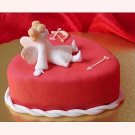 """Торт для влюбленных """"Уставший амур"""""""