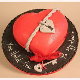 """Торт для влюбленных """"Ключ от сердца"""""""