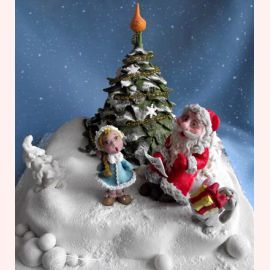 """Торт на Новый год """"Новогодние песенки"""""""