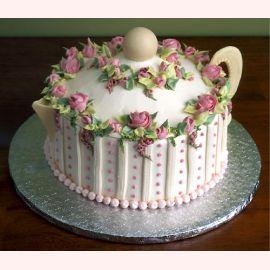 """Торт """"Фарфоровый чайник"""""""