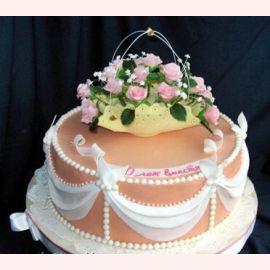"Торт ""10 лет вместе"""