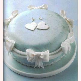 """Торт """"Голуби на шляпке"""""""