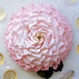 "Торт ""Розовый бутон"""