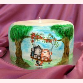 """Торт """"Восковая свеча"""""""
