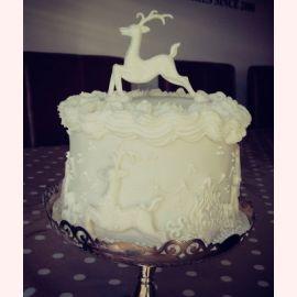 """Торт на Новый год """"Северный олень"""""""