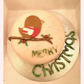 """Торт на Новый год """"С Рождеством!"""""""