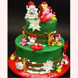"""Торт на Новый год """"Первый Новый год!"""""""