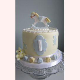 """Торт на 1 год """"Детская лошадка"""""""