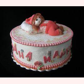 """Торт на 1 год """"Сладких снов"""""""
