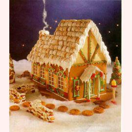 """Торт на Новый год """"Дом"""""""
