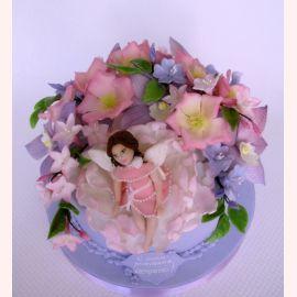 """Торт """"Фея цветов"""""""