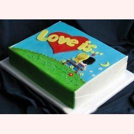 "Торт ""Жвачка Love is №2"""