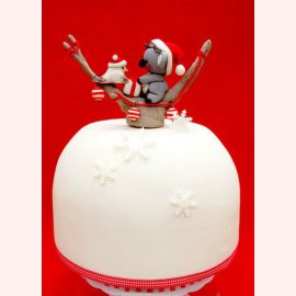 """Торт на Новый год """"Рога оленя"""""""