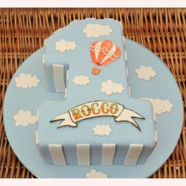 """Торт на 1 годик """"Единичка"""""""