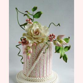 Торт Золотая свадьба