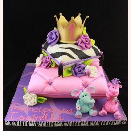 "Торт на 1 год ""Королевский годик"""