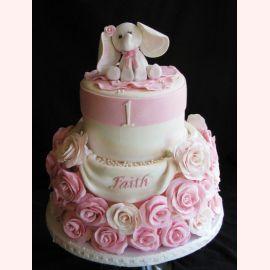 """Торт на 1 год """"Слоник"""""""
