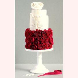 """Торт для влюбленных """"Сочные розы"""""""