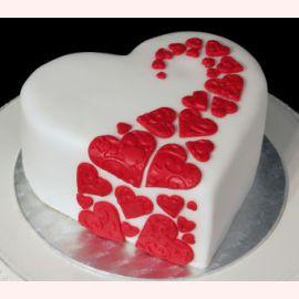 "Торт для влюбленных ""Тропа любви"""