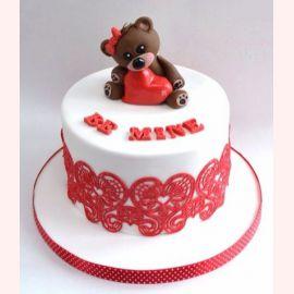 """Торт для влюбленных """"Люблю"""""""