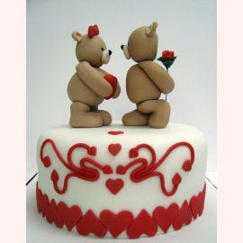 """Торт для влюбленных """"Взаимные признания"""""""