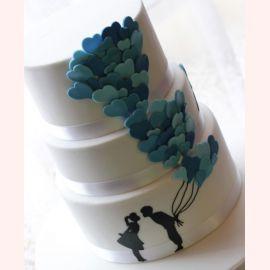 """Торт для влюбленных """"Только Ты и Я"""""""