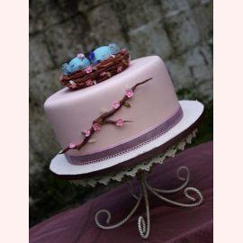 """Торт для влюбленных """"Гнездо любви"""""""