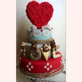 "Торт для влюбленных ""Love"""