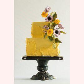 """Торт """"Веточка с цветами"""""""