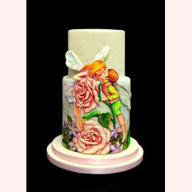 """Торт для влюбленных """"Фея и любовь"""""""
