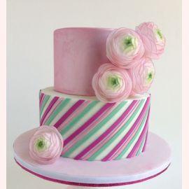 "Торт ""Нежные цветы"""