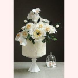 """Торт """"Букет с чайными розами"""""""